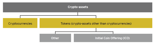 Crypto-assets classes. Source: (Ernst & Young Global Limited, 2018)
